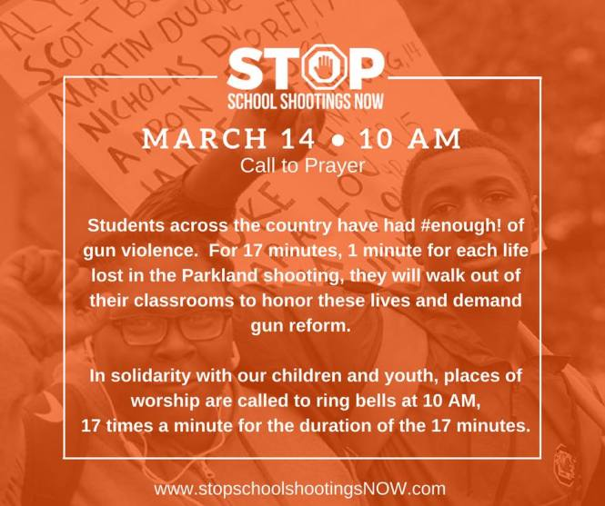March 14 Walkout